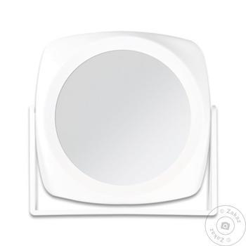 Зеркало косметическое Titania двустороннее 18х18см - купить, цены на Таврия В - фото 1
