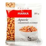 Горішки арахісу смажені солоні Marka Promo 200г