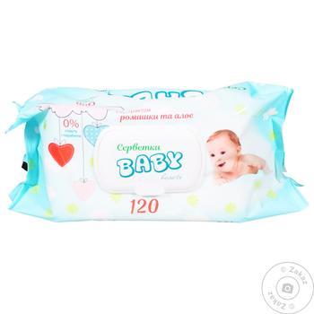 Baby Wet Wipes 120pcs