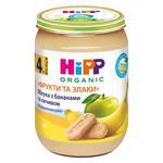 Пюре ХіПП Яблука з бананами та печивом Фрукти та зерно для дітей з 5 місяців 190г