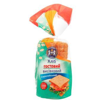 Хліб Кулиничі Європейський тостовий висівковий 350г