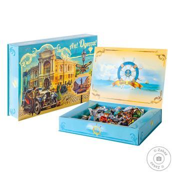 Набор конфет Аметист Плюс Ах Одесса 500г - купить, цены на Novus - фото 1