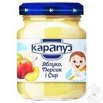 Karapuz Apple, Peach and Cheese Puree 200g