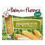 Хлебцы Le Pain des Fleurs кукурузные органические безглютеновые 150г