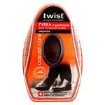 Губка Twist черная с дозатором для кожи