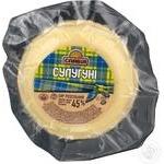 Cheese suluguni Slaviya semihard 45% Ukraine