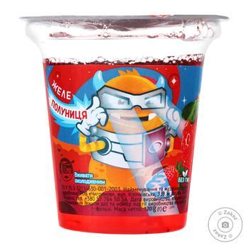 Желе Jolino клубника 120г - купить, цены на Ашан - фото 1