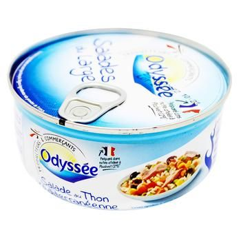 Odyssee Mediterranean Tuna with Rice 250g