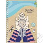 Student A6 notebook in cell 80 sheets