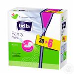 Прокладки ежедневные Bella Panty mini гигиенические дышащие 36шт