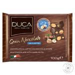 Шоколад молочний Gran Nocciolato Al Latte з цілими лісовими горіхами 100г