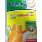 Baby dairy-free corn porridge Bellakt for 5+ months babies 250g Belarus