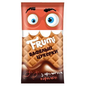 Конфеты Frumi вафельные со вкусом карамели весовые