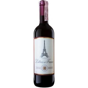 Maison Bouey Lettres De France Rouge Moelleux red semisweet  wine 11.5% 0.75l - buy, prices for Auchan - photo 1