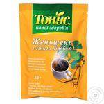 Напиток кофейный Золотое Зерно с женьшенем 50г
