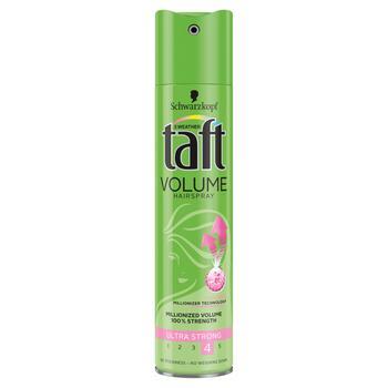 Лак для волос Taft Объем 250мл - купить, цены на Ашан - фото 1