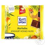 Шоколад Ritter Sport молочный йогурт мед и орехи 100г - купить, цены на МегаМаркет - фото 1