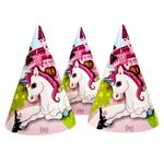 Ковпак святковий Рожевий Слон 10шт