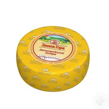 Сыр Звени Гора Звенигородский 50% - купить, цены на Фуршет - фото 1