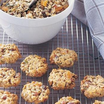 Низькокалорійне печиво з мюслі