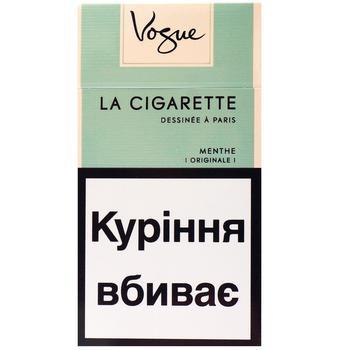 Сигареты Vogue Menthe Menthe 20шт - купить, цены на Ашан - фото 1