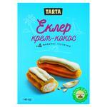 Пирожное Tarta Эклер крем-кокос 140г