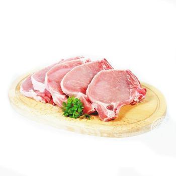 Стейк свиной на косточке гриль