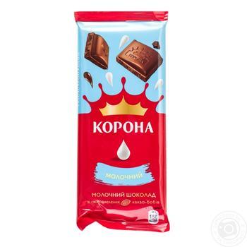 Шоколад Корона молочный 85г - купить, цены на Восторг - фото 2