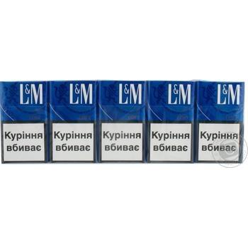 Сигарети L&M Loft Blue
