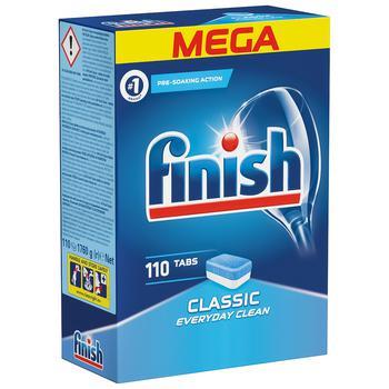 Finish Classic Tablets for Dishwashers 110pcs