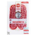 Колбаса Мясная гильдия Салями Золотистая сырокопченая в/с 75г