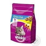 Whiskas Sterile Chicken Dry For Cats Food