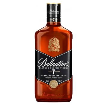 Виски Ballantine's Bourbon Finish 7 лет 40% 0.7л