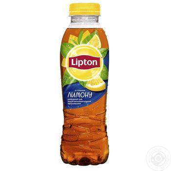 Холодний чорний чай Lipton зі смаком лимону 0,5л - купити, ціни на Восторг - фото 1