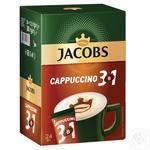 Напиток кофейный Jacobs 3в1 Cappuccino в стиках 12,5г