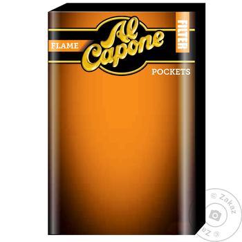 Сигары Al Capone pockets filter flame 10шт - купить, цены на Novus - фото 1