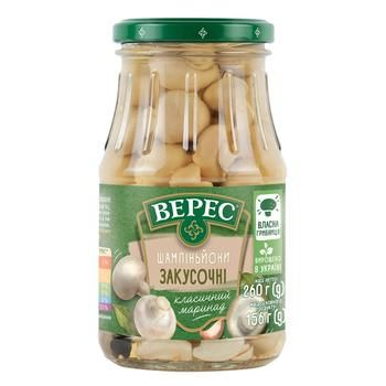 Veres Snack Marinated Champignons 260g - buy, prices for CityMarket - photo 1