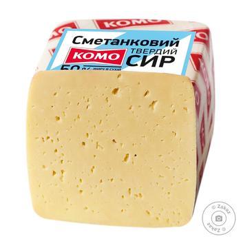 Сыр Комо Сметанковый 50%