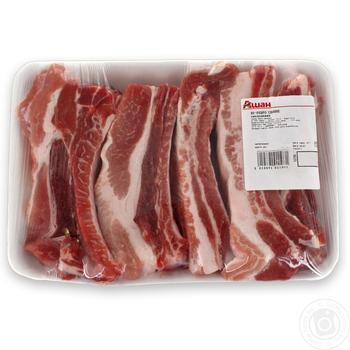 Ребро свинне охолоджене - купити, ціни на Ашан - фото 1