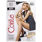 Колготки женские Conte City 20ден р.2 Nero