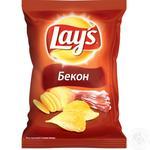 Чипсы Lay's картофельные со вкусом бекона 133г