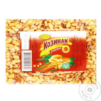 Козинак Дуже Смачно Злаковий 60г - купити, ціни на Ашан - фото 1