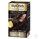 Фарба для волосся Syoss Oleo Intense без аміаку 4-86 Шоколад 115мл