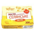 Масло Українська Зірка крестьянское 73% 200г