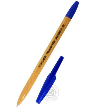 Ручка Economix Yellow Pen - купить, цены на Ашан - фото 1