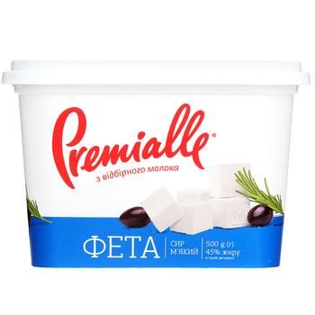 Сир Premialle Фета 45% 500г - купити, ціни на Фуршет - фото 2