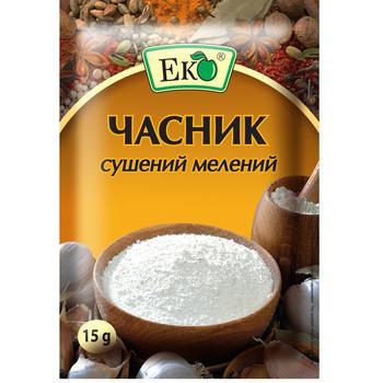 Чеснок Эко сушеный молотый 15г - купить, цены на Таврия В - фото 1