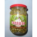 Vegetables pea Dobriy hospodar canned 460ml Ukraine