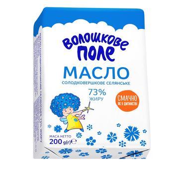 Voloshkove Pole Selianske Sweet Cream Butter 73% 200g