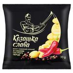 Арахис Козацька Слава соленый со вкусом острого перца 30г